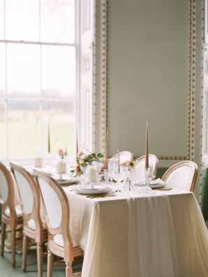 Elegant Neutral Wedding Table