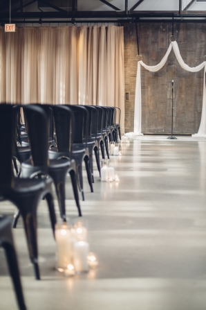 Industrial Wedding Ceremony Chicago