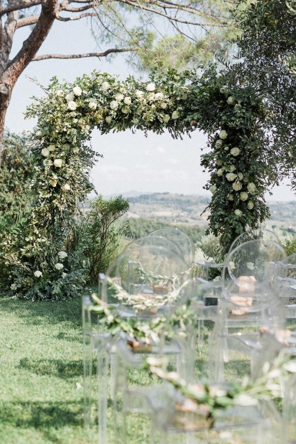 Italian Greenery Arbor