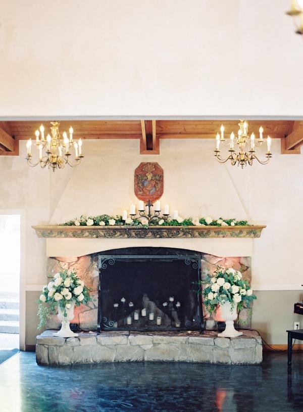 Mantel Wedding Decor
