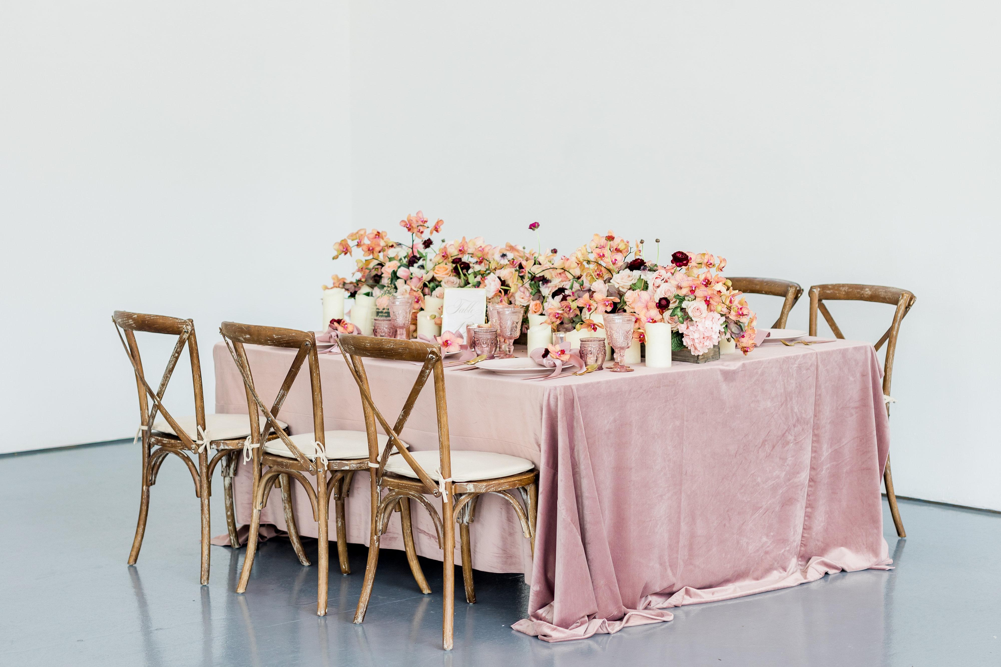 Mauve Velvet Wedding Ideas