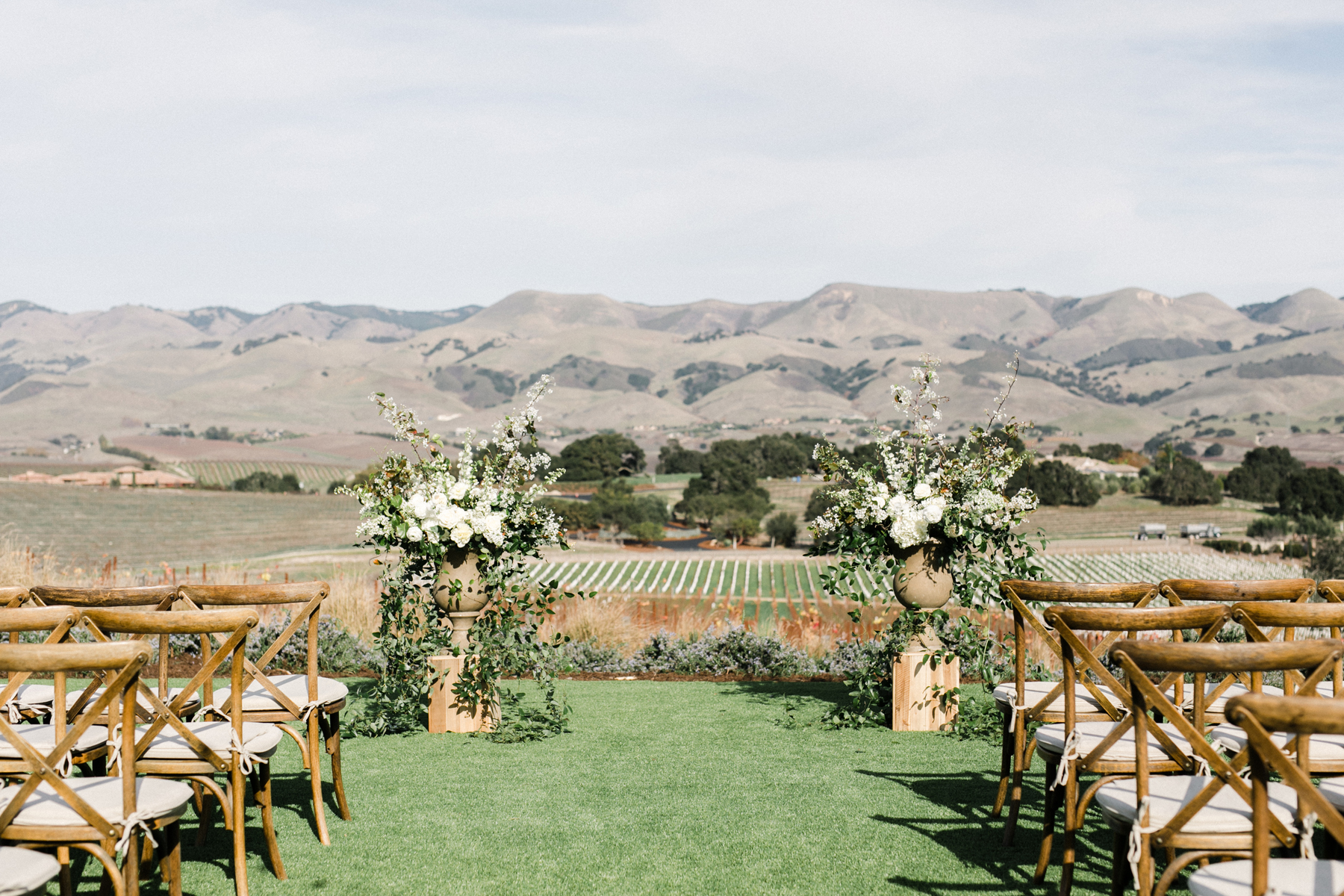Northern California Mountain Wine County Wedding