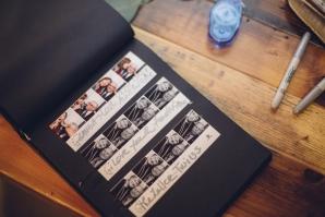 Photo Strip Guest Book