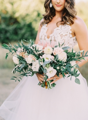 Romantic Garden Bride Bouquet