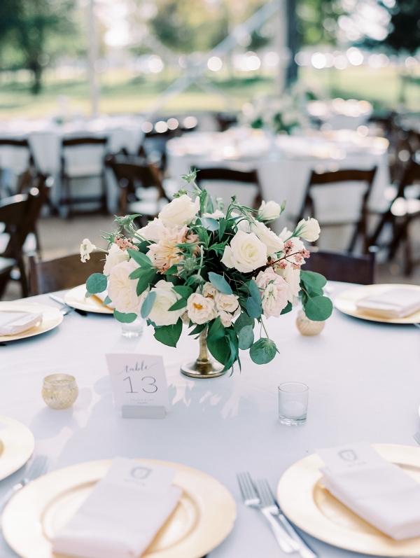 Rose Garden Style Centerpiece