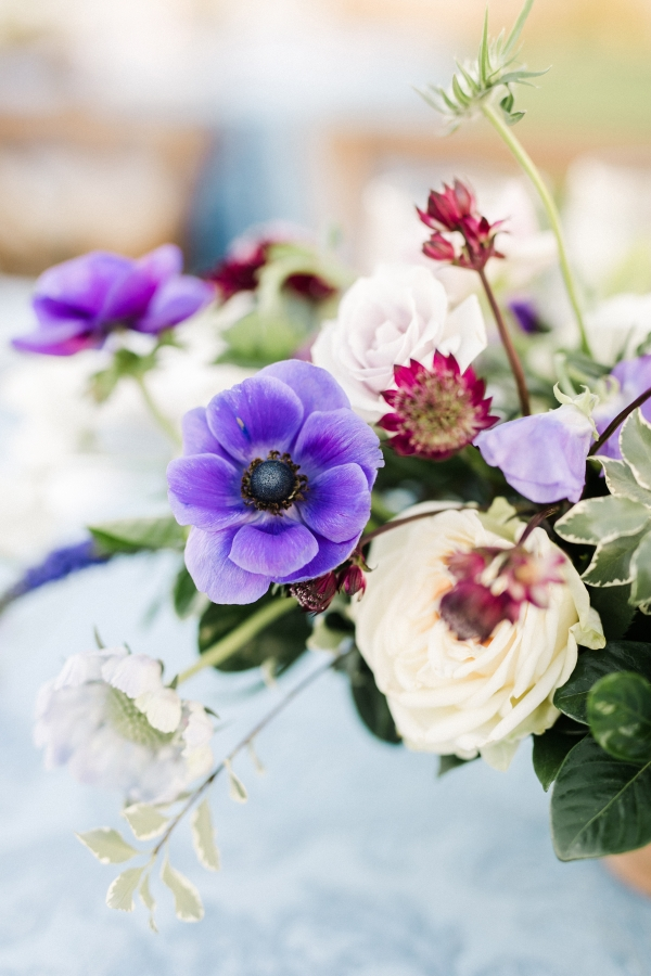 Violets for Wedding