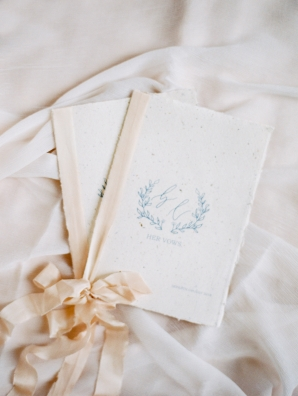Vow Books on Handmade Paper