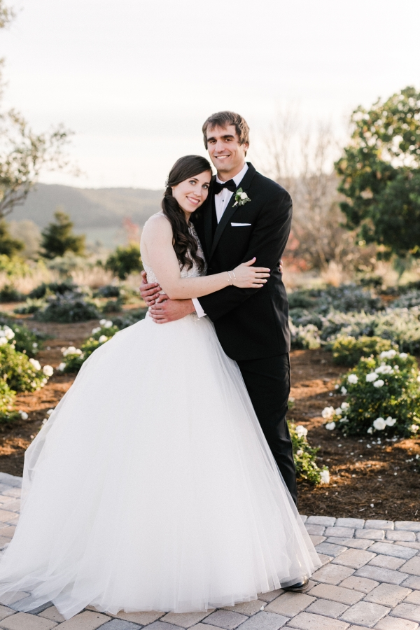 Wine Country Wedding in Shades of Blue 12