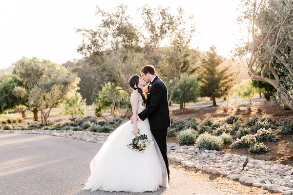 Wine Country Wedding in Shades of Blue 16