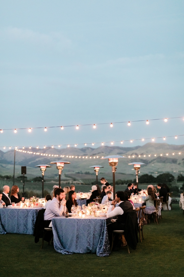 Wine Country Wedding in Shades of Blue 20