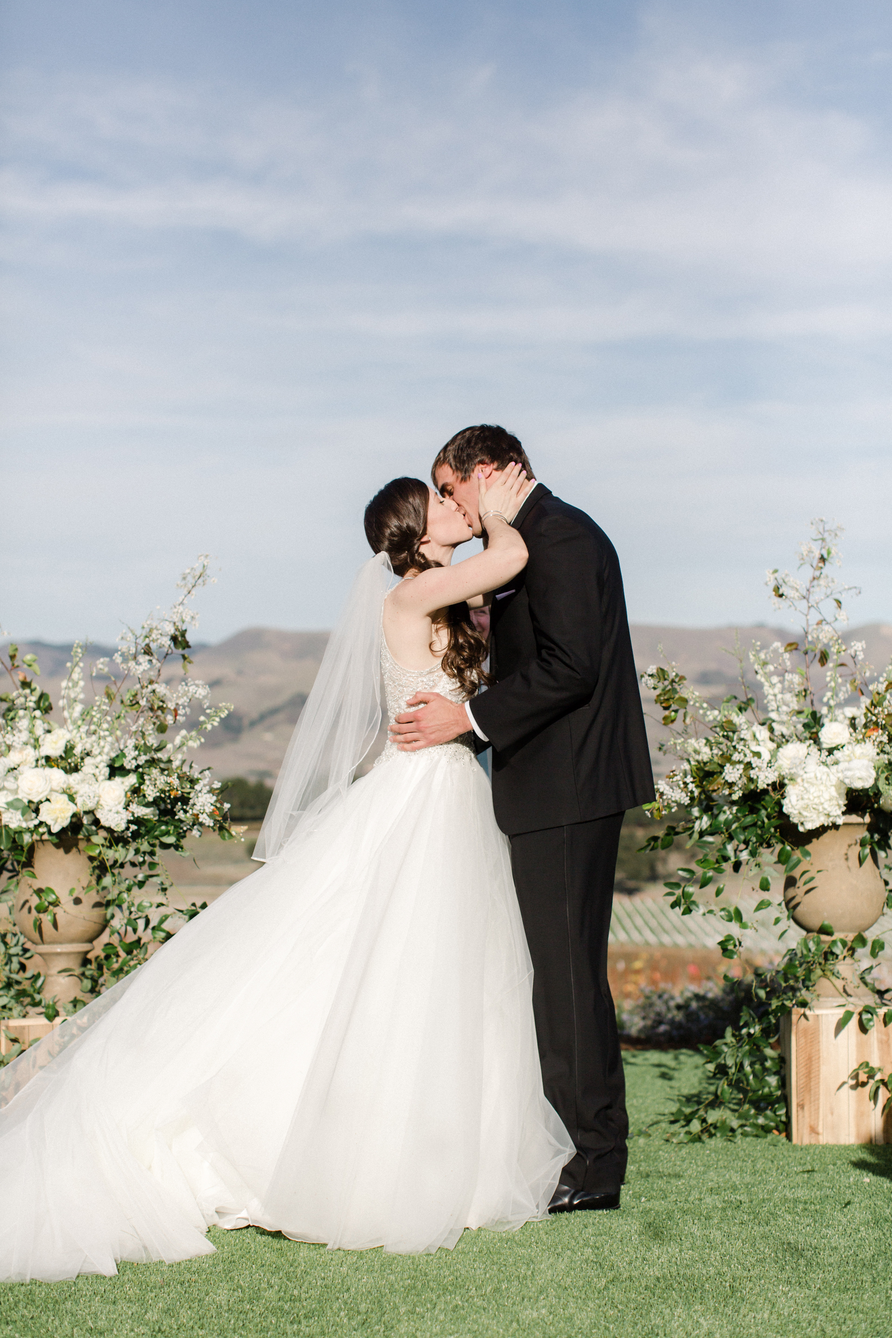 Wine Country Wedding in Shades of Blue 9