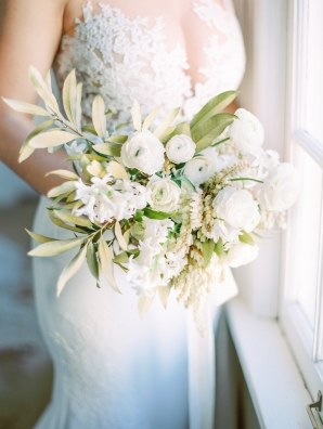 Bouquet with Chinquapin Branches