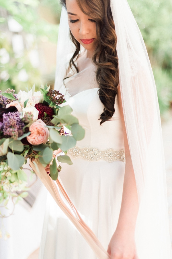 Bride in Stephanie Allin