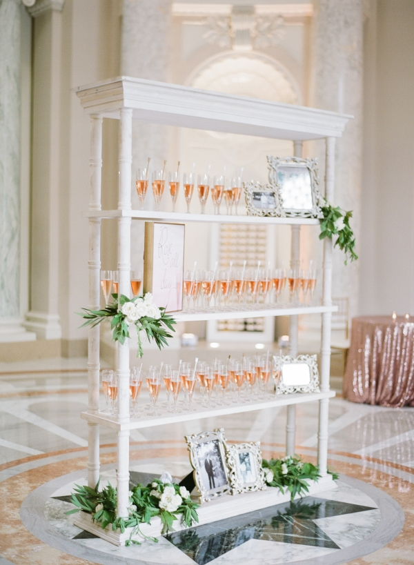 Champagne Station for Wedding