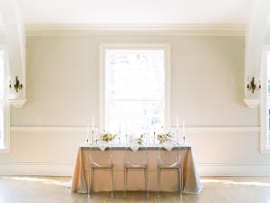 Classical Blush Wedding Table
