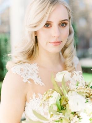 Elegant Bride in Pronovias