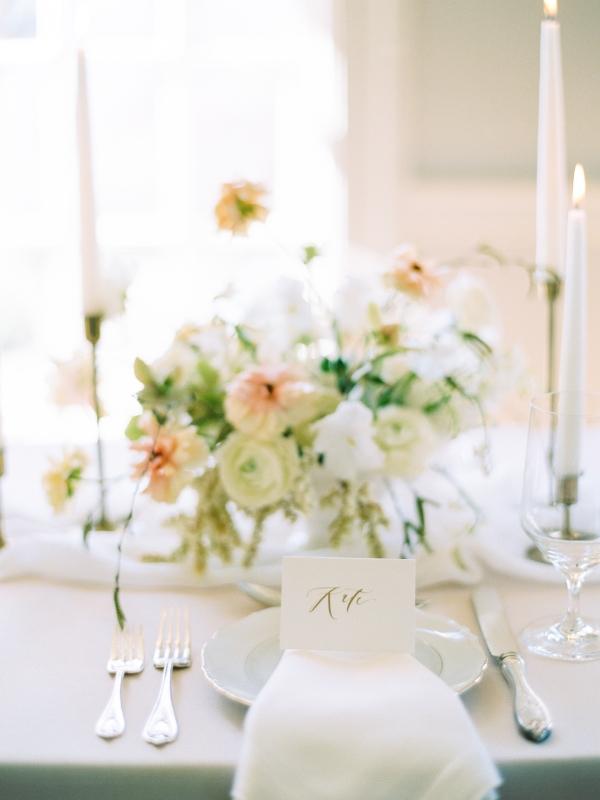 Elegant Neutral Wedding Table