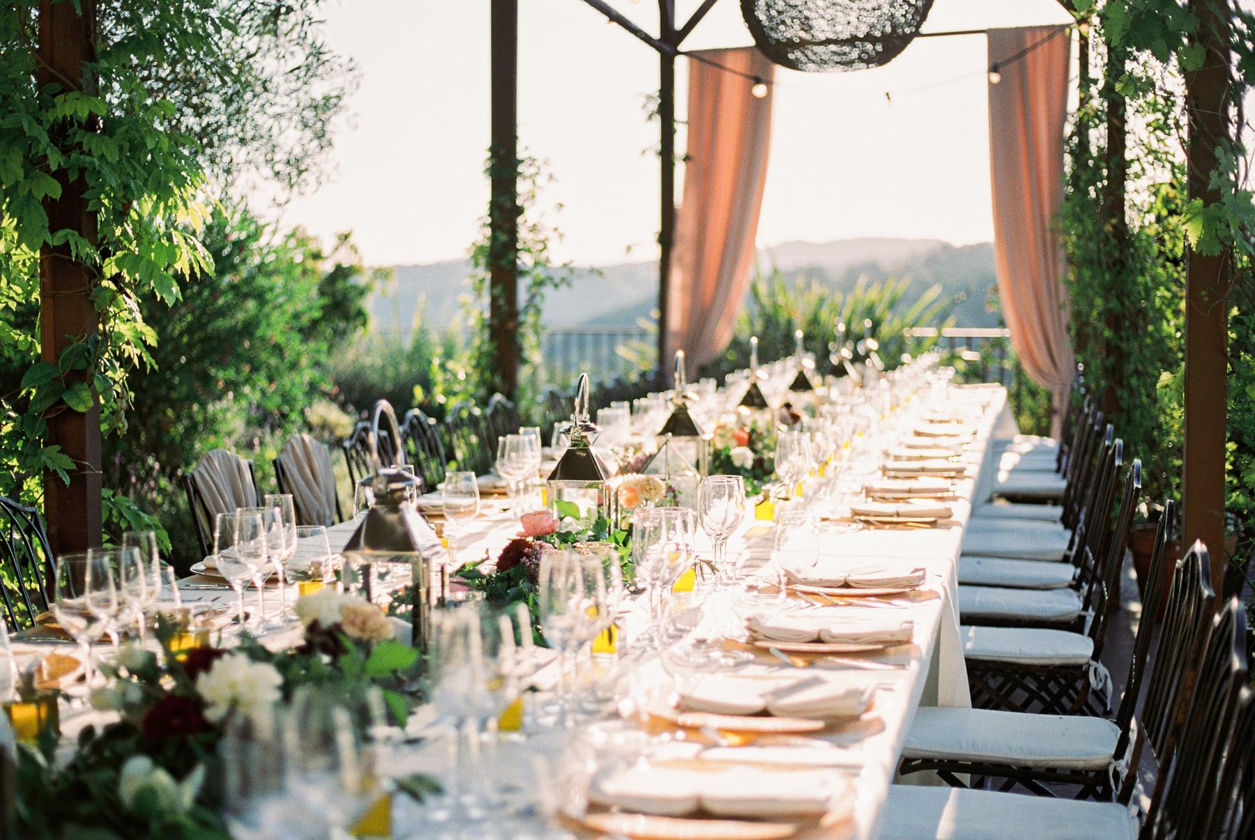 Elegant Outdoor Villa Wedding
