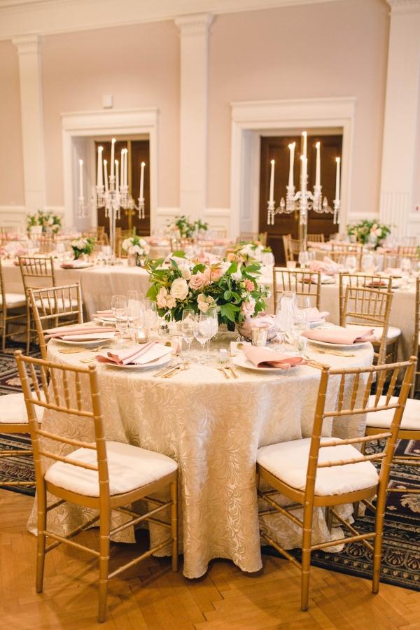 Gold Ballroom Wedding in DC