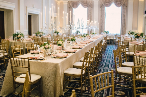 Gold Ballroom Wedding in Washington DC