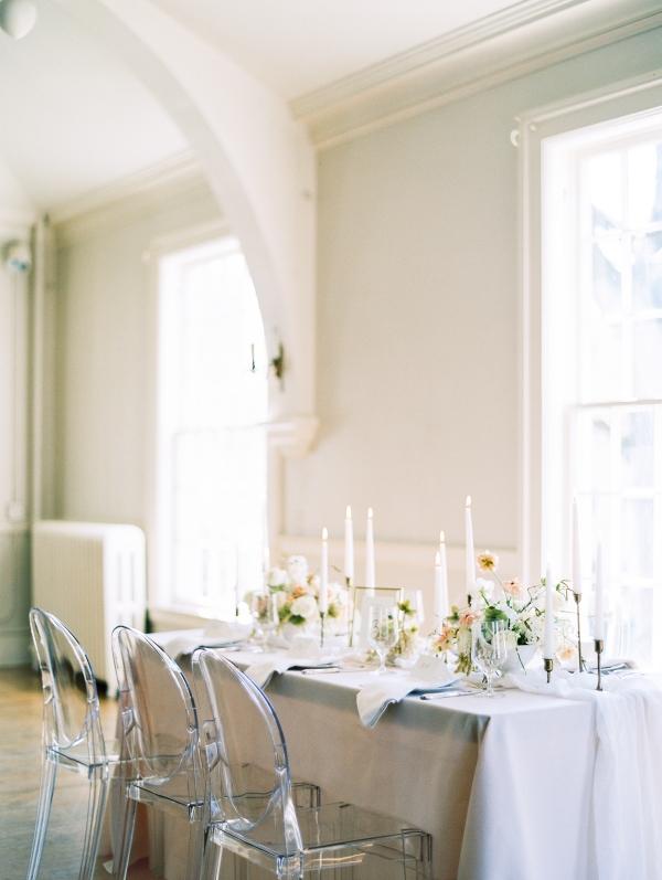 Gray and Blush Elegant Wedding