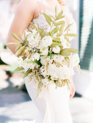 Ivory and Sage Bouquet