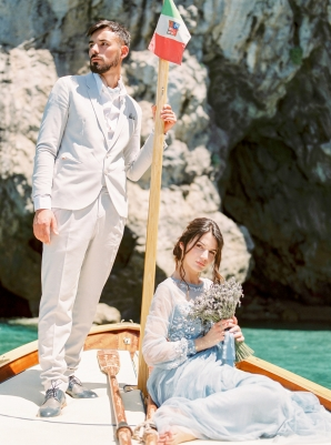 Nautical Wedding Inspiration Amalfi Coast
