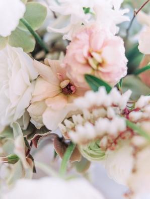 Peach Pale Pink Wedding Flowers