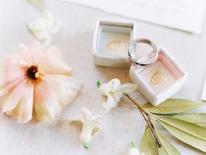 Peach Wedding Details