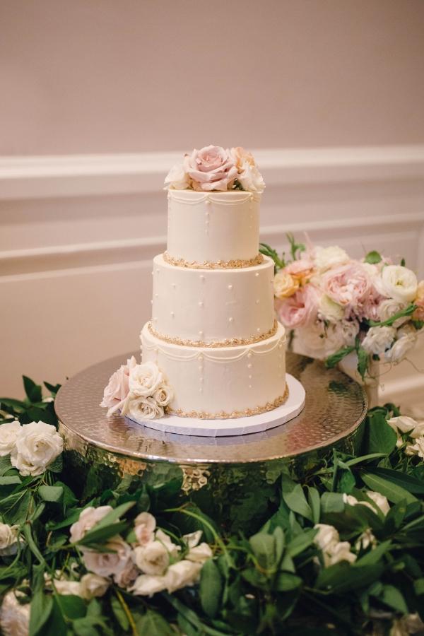 Petite Three Tier Wedding Cake