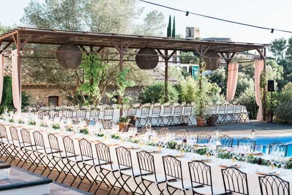 Poolside Villa Wedding