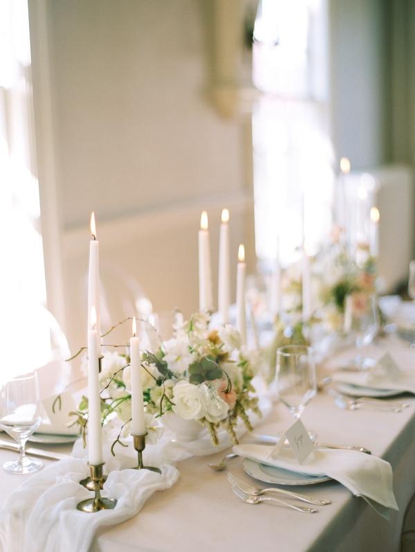 Romantic Candle Centerpiece