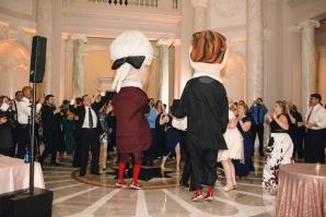 Washington Nationals Mascots Visit Wedding 1