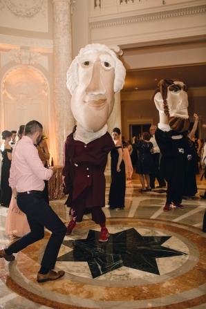 Washington Nationals Mascots Visit Wedding 4