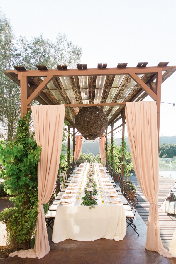 Wedding Canopy by Pool