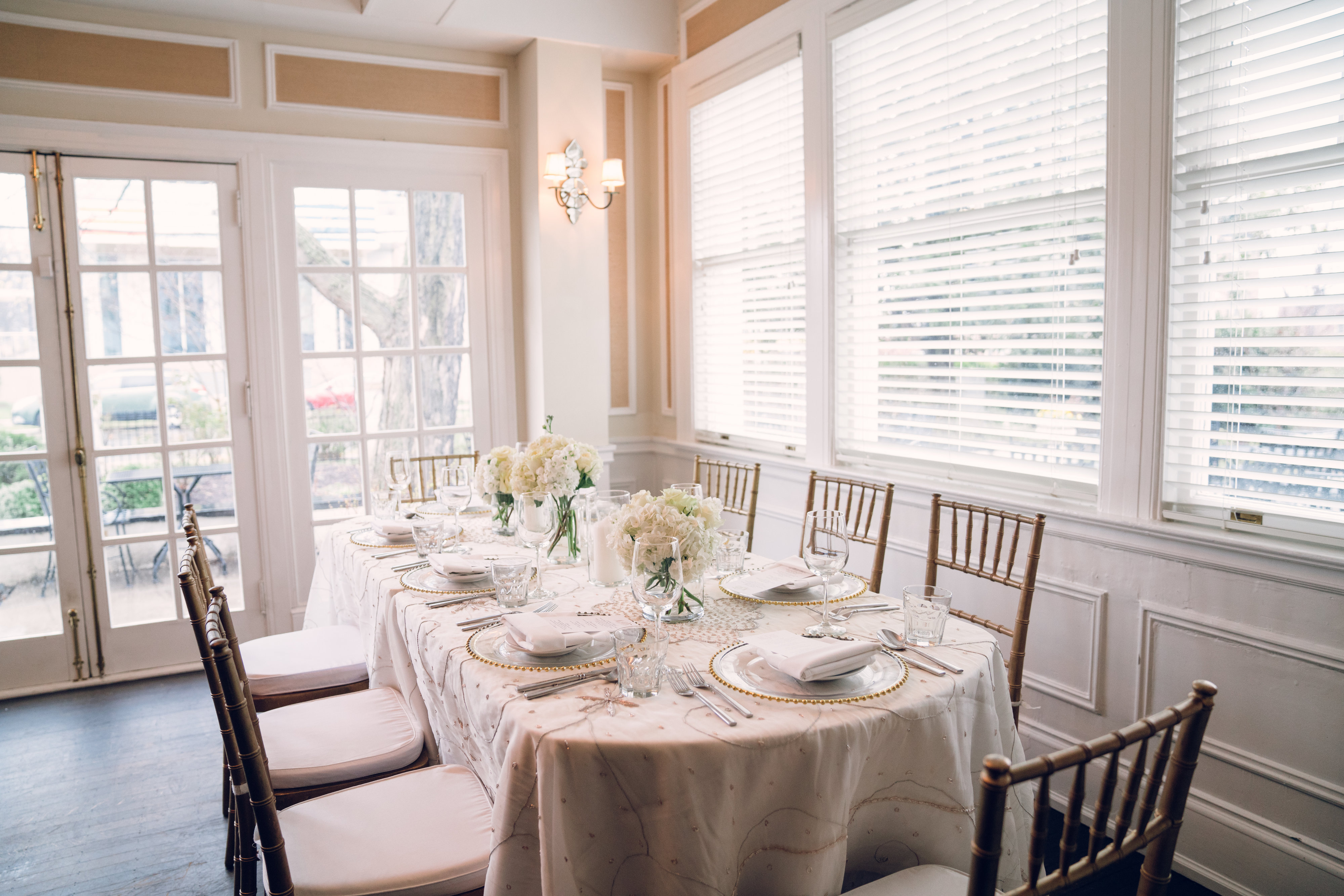 Classic Mansion Wedding Reception