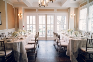 Yellow and Ivory Mansion Wedding