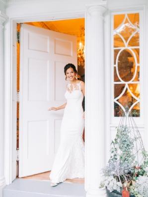 Bride in Pronovias