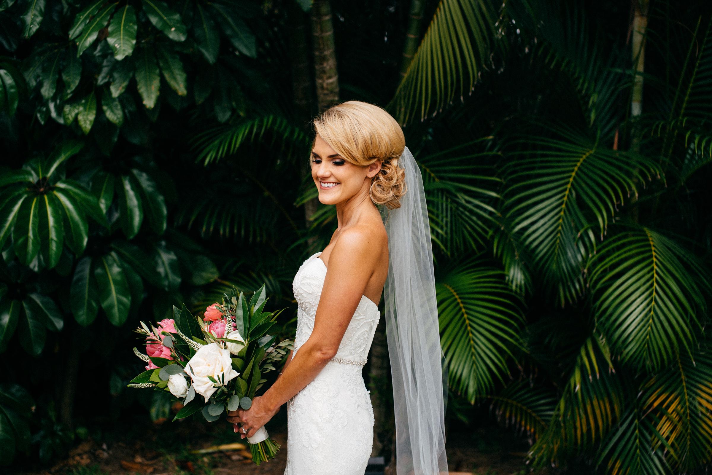 Bride in Winnie Couture