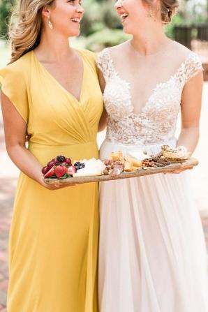 Bridesmaid in Mustard