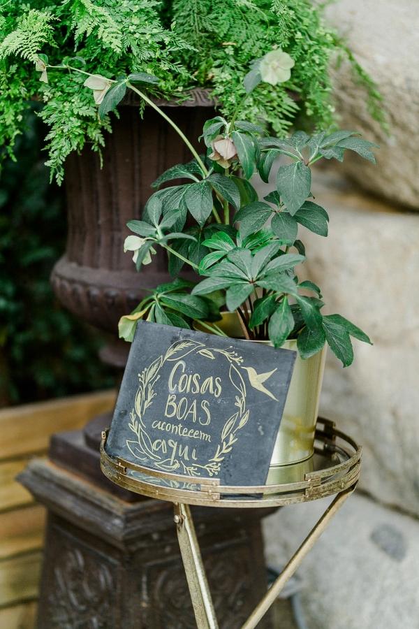Chalk Wedding Sign