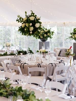 Colorado Tent Wedding Reception
