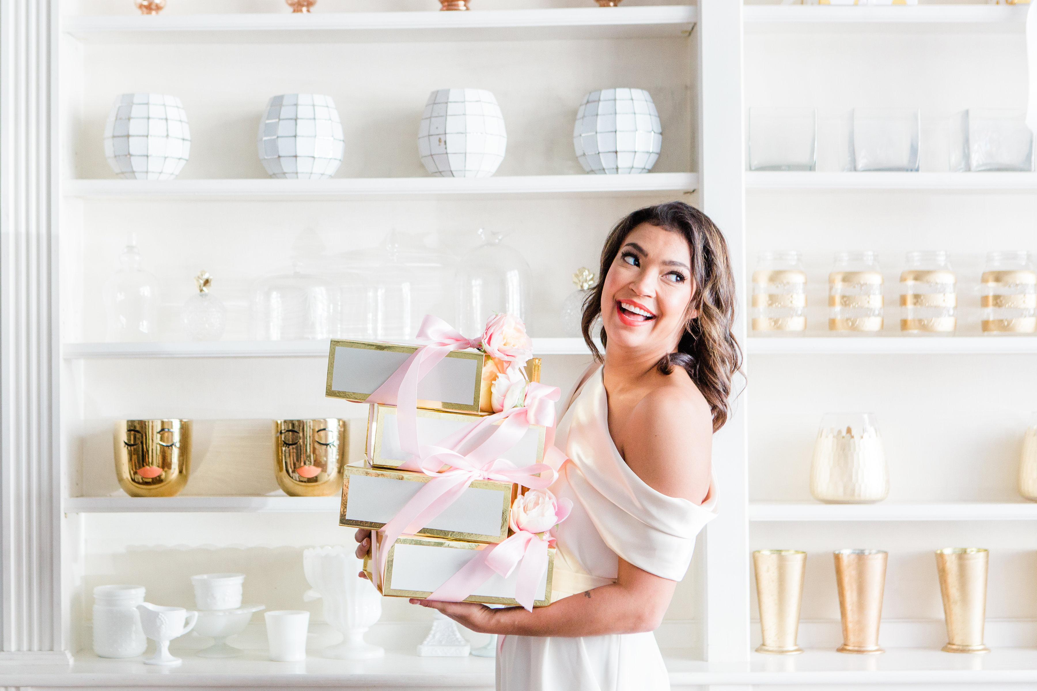 Custom Bridesmaid Gift Boxes