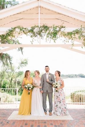Cypress Grove Estate House Mustard Summer Fall Wedding Inspiration Casie Marie Photography 10