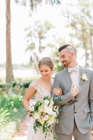Cypress Grove Estate House Mustard Summer Fall Wedding Inspiration Casie Marie Photography 5