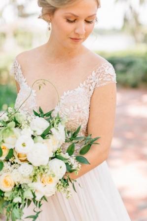 Cypress Grove Estate House Mustard Summer Fall Wedding Inspiration Casie Marie Photography 6