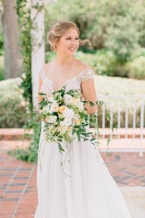 Cypress Grove Estate House Mustard Summer Fall Wedding Inspiration Casie Marie Photography 9