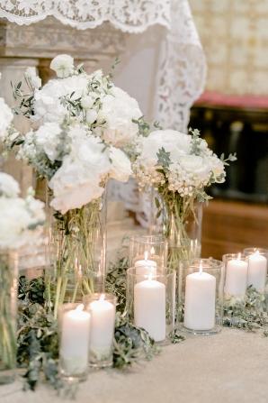 Elegant Altar for Church Wedding