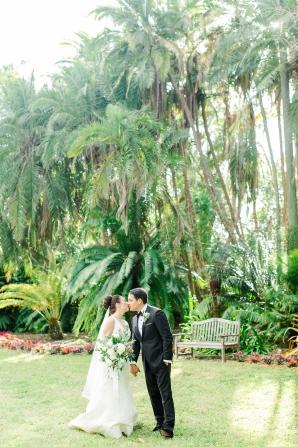 Elegant Sarasota Wedding Marie Selby Gardens 1
