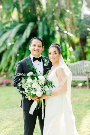 Elegant Sarasota Wedding Marie Selby Gardens 3